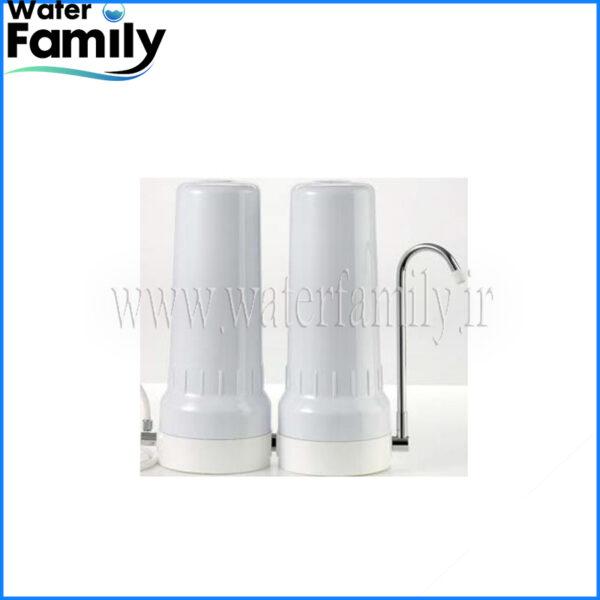 دستگاه تصفیه آب خانگی دو مرحله ای رو میزی