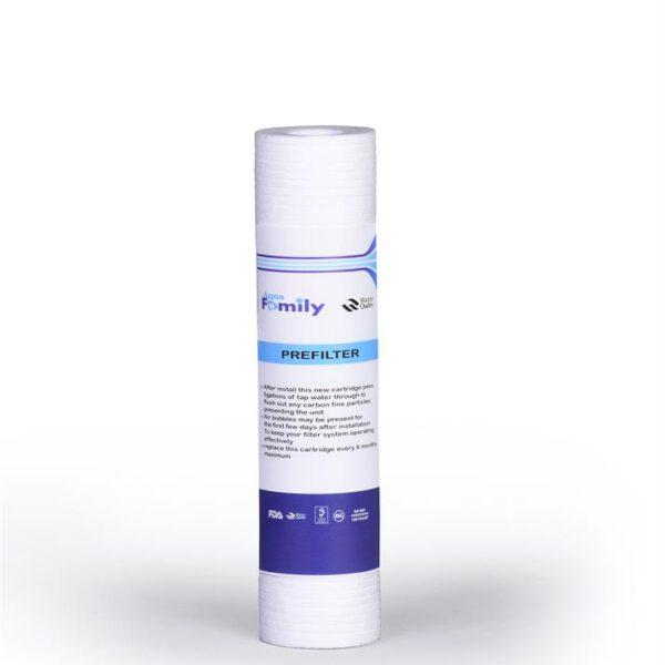 فیلتر الیافی 2.5*10 اینج aqua