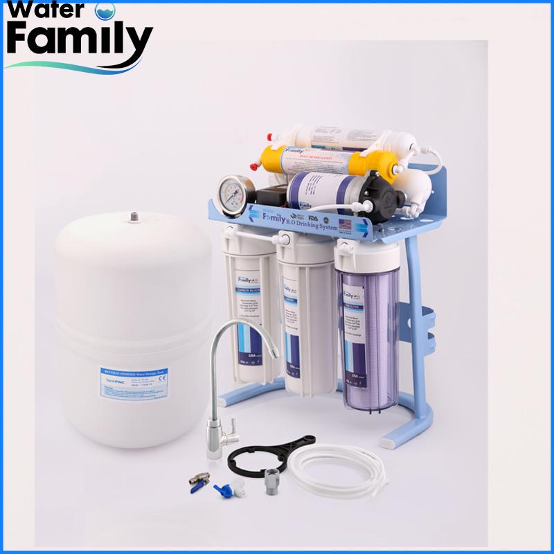 دستگاه تصفیه آب شش مرحله ای water family