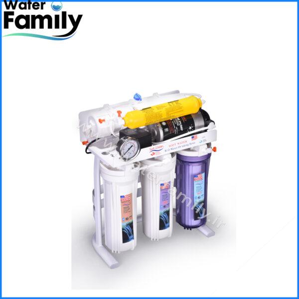 دستگاه تصفیه آب شش مرحله ای Soft water