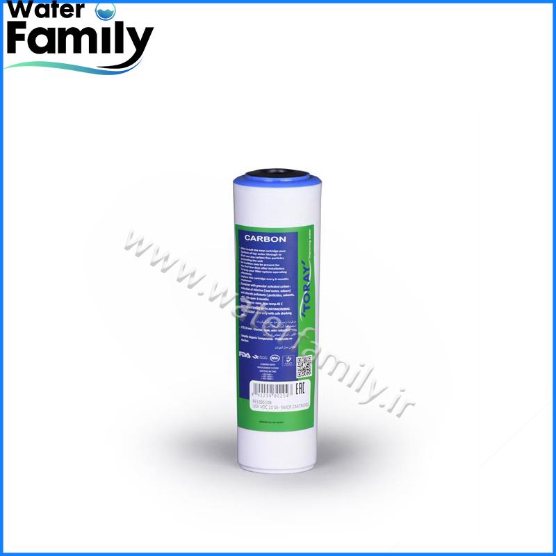 فیلتر کربن اکتیو2.5*10 TORAY