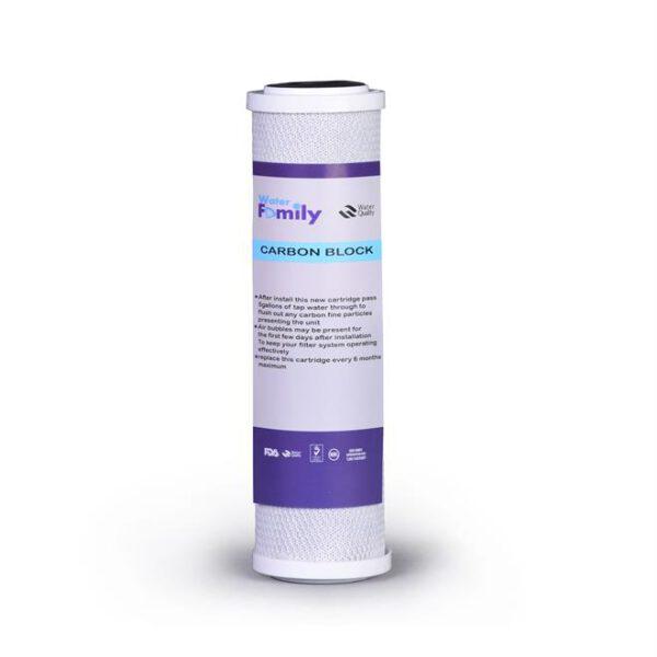 فیلتر کربن بلاک2.5*10 water family