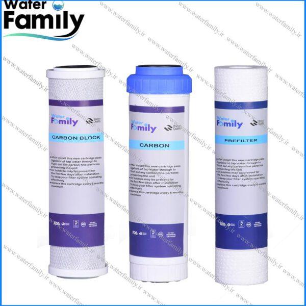 ست فیلتر تصفیه آب water family
